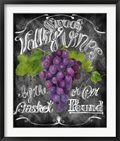 Framed Sweet Valley Vines