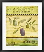 Framed Olive Grove Tuscana