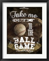 Take Me Out Framed Print