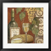 Wine and Cheese Tasting 1 Framed Print