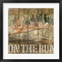 Framed Rabbit on the Run