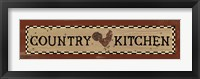 Country Kitchen Framed Print