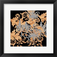 Rococo Shimmer Framed Print