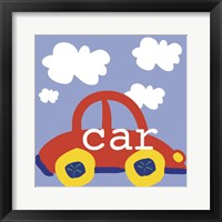 Red Car Framed Print
