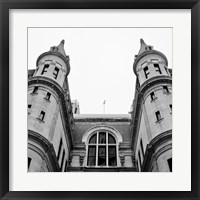 Philadelphia Architecture III Framed Print