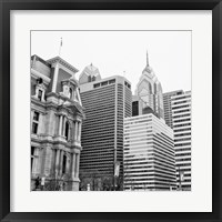 Framed Downtown Philly