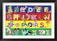 Framed Alphabet Puzzle