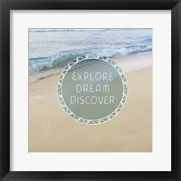 Beachsay 1 Framed Print