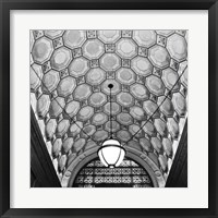 Ceiling Detail Framed Print