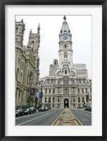Framed Philadelphia City Hall (Color)