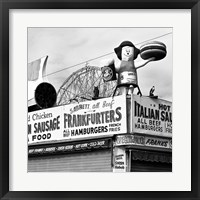 Framed Coney Island Frankfurters