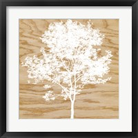 Snowy Tree Framed Print