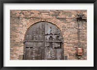 Bricks and Arches II Framed Print