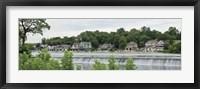 Framed Boathouse Row