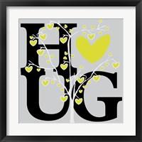 Hug (Spring) Framed Print
