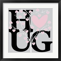 Hug (Summer) Framed Print