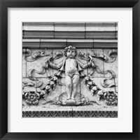 Angel II (b/w) Framed Print