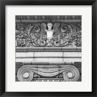 Angel I (b/w) Framed Print