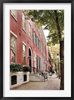 Framed Delancy Street (vertical)