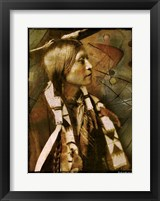 Framed Jicarilla Woman