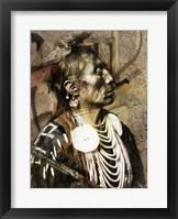 Framed Medicine Crow