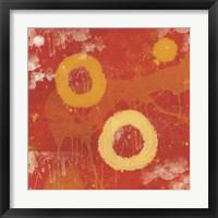 Cinder Framed Print