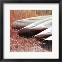 Lakeside Repose Framed Print
