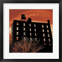 Tribeca Twilight Framed Print