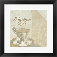 Flatiron Cafe Framed Print