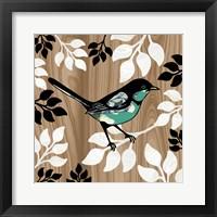 Bird Patchwork II Framed Print
