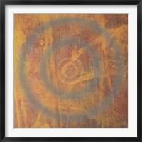 Circle I Framed Print