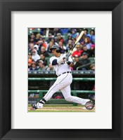 Framed Victor Martinez 2015 Action