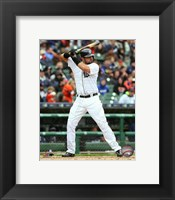 Framed Nick Castellanos 2015 Action