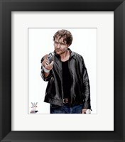 Framed Dean Ambrose 2015 Posed