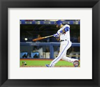Framed Jose Bautista 2015 Action