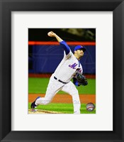Framed Matt Harvey 2015 Action
