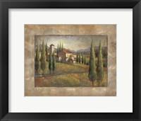 Framed Tuscan Sun I