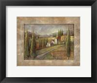Framed Tuscan Sun II