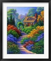 Framed Nestled Cottage
