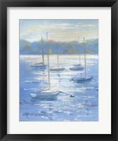 Framed Sunlight Sailboats