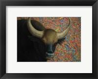 Framed Bull
