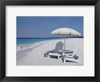 Seaside Picnic Framed Print