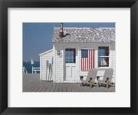Framed Dockside Flag