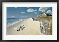 Framed Beach House View