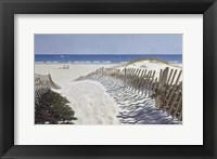 Framed Walk To The Beach