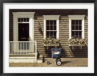 Mail Delivery Framed Print