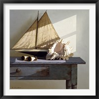 Framed Shell & Sail