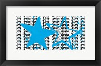 Twin Stars Framed Print