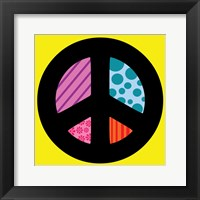 Peace Collage 2 Framed Print