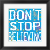 Believing Framed Print